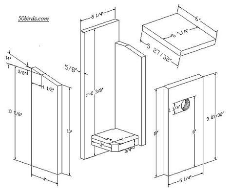 chickadee bird house plans  home plans design