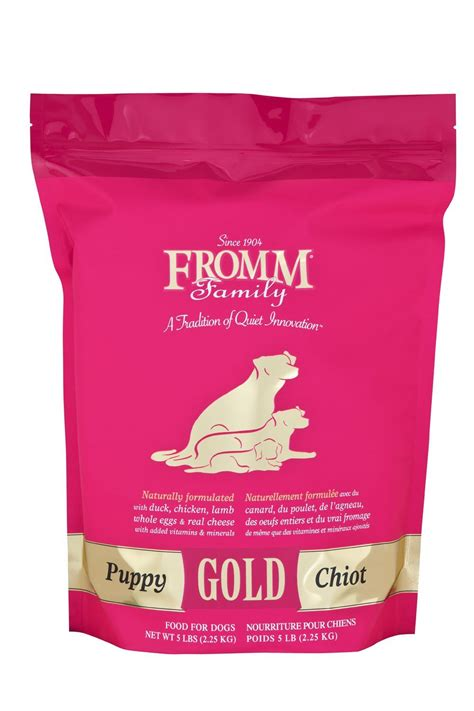 fromm dog food gold puppy hollywood feed