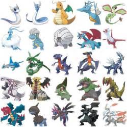 dragon type pokmon pictures