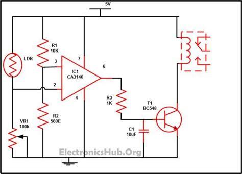 interruptor crepuscular circuitos en 2019 electr 243 nica circuitos y sensor de luz