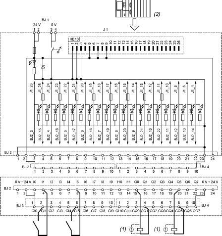 abe7b20mpn22 connection sub base abe7 for twido modular base