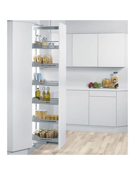 peka libell  slip tall larder systems  mm cabinets anthracite grey