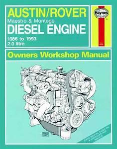 Austin  Rover 2 0 Litre Diesel Engine 1986