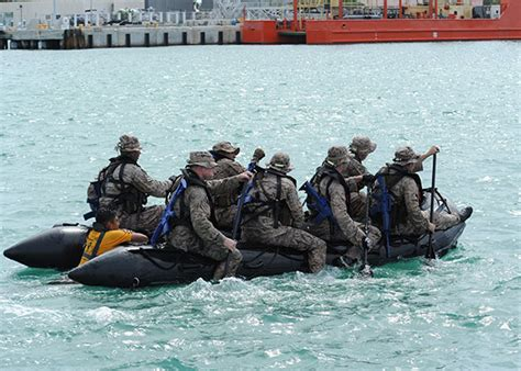 Zodiac Boat Training by Critical Skills Operator Training Selection