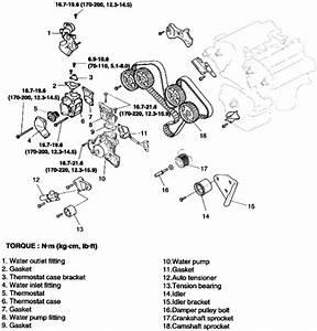 2005 Kia Amanti Belt Diagram