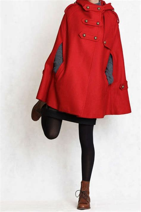 cape jacket ideas  pinterest capes winter