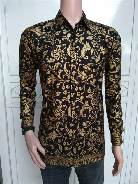 jual baju batik pria kemeja batik batik pria modern di lapak dzakiron batik zamzam