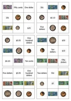 australian money bingo easy version  shane long tpt