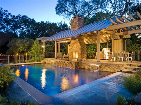 pool house designs with outdoor kitchen 20 outdoor kitchens and grilling stations outdoor spaces 9146