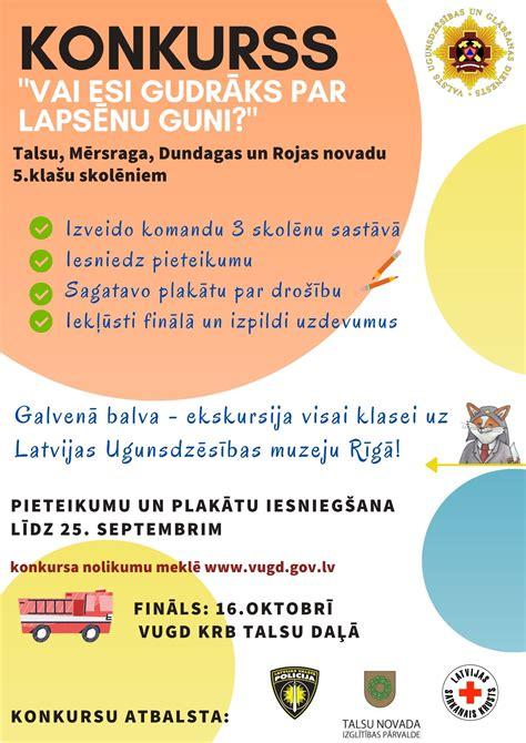 Konkurss_Talsi_plakāts - Talsu novada Izglītības pārvalde