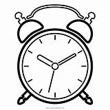 Clock Coloring Alarm Desenho Despertador Pages Getdrawings Printable Getcolorings sketch template
