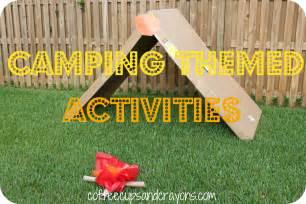 Camping Theme Summer Camp Activities