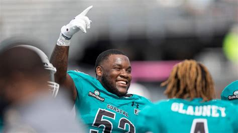 Coastal Carolina is ranked in the Top 25 poll for first ...