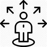 Icon Project Clipart Coordinator Management Transparent Clip