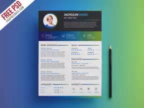 creative resume templates free psd creative professional resume template free psd psdfreebies psdfreebies