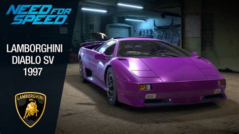speed  lamborghini diablo sv  youtube