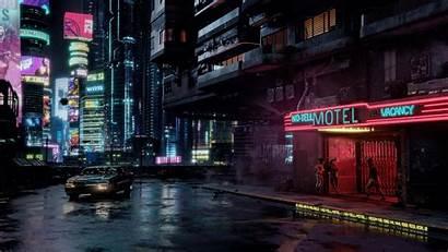Cyberpunk 2077 Environment Wallpapers