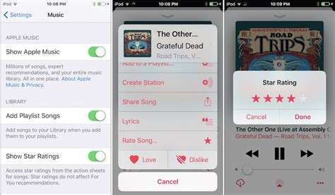 Star Ratings Make A Return To Apple Music On Ios 10.2 Beta