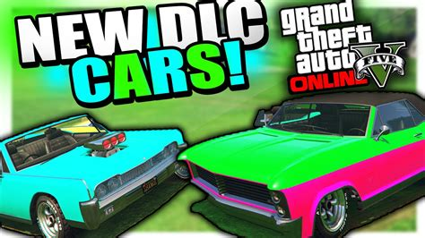 New Dlc Cars With Upcoming Gta 5 Update