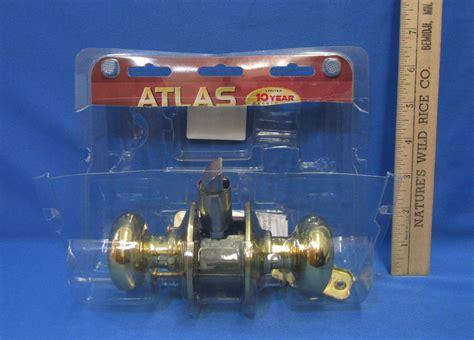 atlas door knob handle closet interior home non