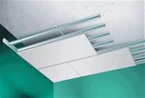 Faux Plafond Autoportant : materiaallijst voor het plaatsen van verlaagd plafond met ~ Nature-et-papiers.com Idées de Décoration