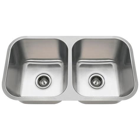 stainless steel kitchen sinks mr direct undermount stainless steel 32 in bowl 8231