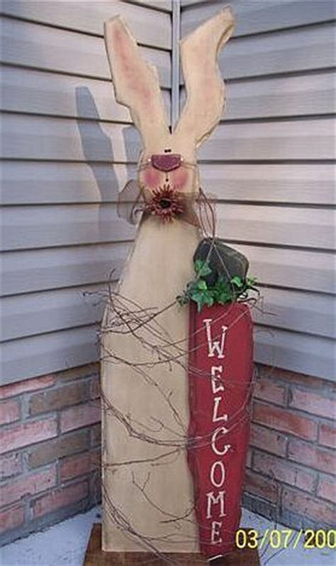 Wooden Primitive Easter Decor by Free Wooden Yard Decorations Plans Woodworking