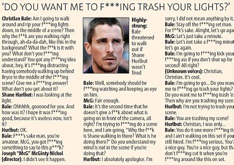 That Christian Temper Bale Mother His Foul