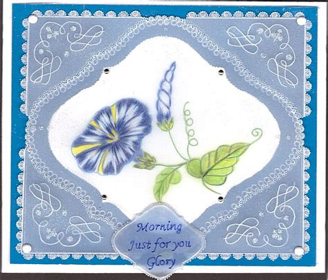 morning glory pattern  gail sydenham fromtattered lace
