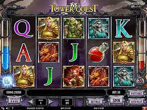Play Tower Quest Video Slot Free at Videoslotscom