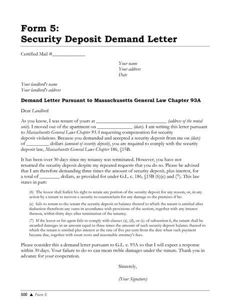 demand letter refund money free sle letter refund money