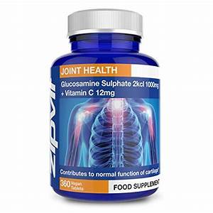 Glucosamine 2kcl 1000mg  Pack Of 360 Tablets  By Zipvit Vitamins Minerals  U0026 Supplements From