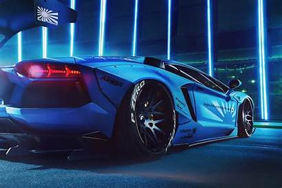 Lamborghini Aventador Liberty Walk Wallpapers Modified Cars
