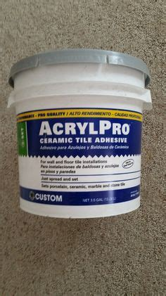 Acrylpro Ceramic Tile Adhesive Home Depot by 1000 Images About Basement Fireplace Makeover Diy