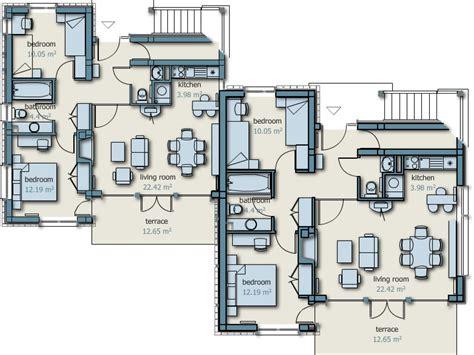 detached garage floor plans modern house plans with detached garage