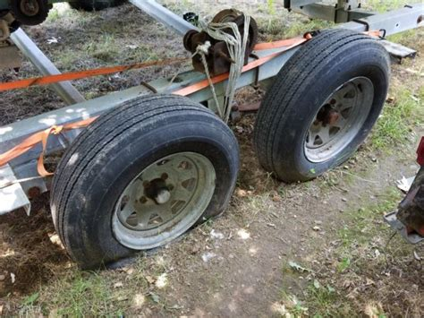 Dilly Boat Trailer Axles by 1974 Dilly Boat W Dual Axle Trailer Huntington Station