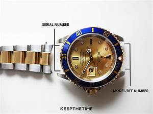 How To Find Rolex Watch Serial Numbers And Date Chart