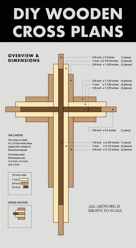 diy   wood cross plans filing   woods