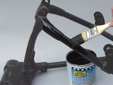 retouche peinture cadres chassis restom refresh noir 8820 nos marques achat vente restom