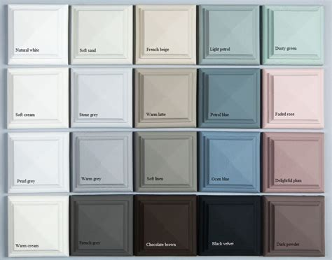 shabby chic colors color range for vintage and shabby chic looking rooms cheat sheet shabby chic pinterest