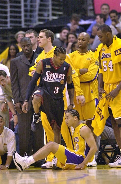 allen iverson talks  stepping  tyronn lue