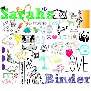 My Binder Cover - Polyvore