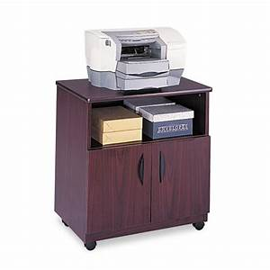 saf1850mh safco laminate machine stand w open compartment With kitchen cabinets lowes with oil change sticker printer