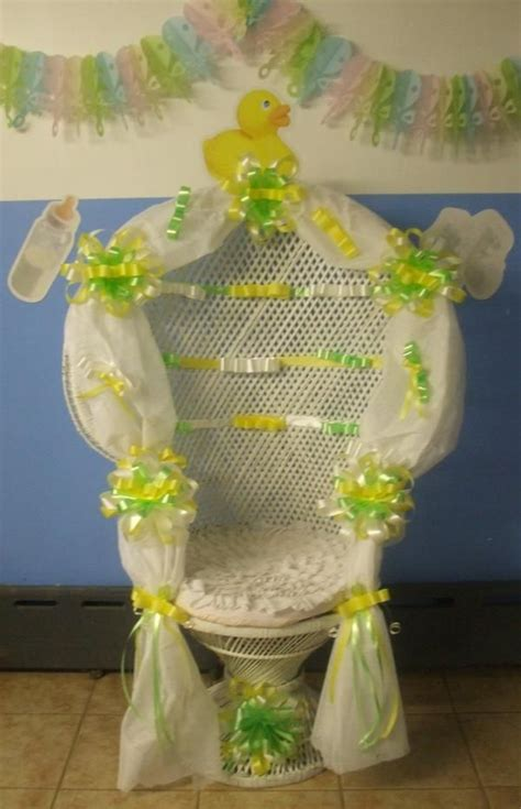 Decorating Chair For Baby Shower - 43 best images about baby shower chairs on