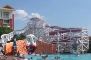 Disney Boardwalk Inn Water Slide