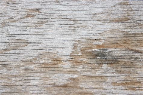 Another Two More Old White Painted Wood Textures