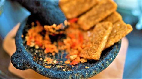 Sambal cabe ijo meruakan sambal khas dari tanah minang. Sambal Kencur Tempe Penyet Ala Sunda   Dapur Fithry