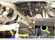 BMW E60 5Series Rear Differential Fluid Replacement 2003