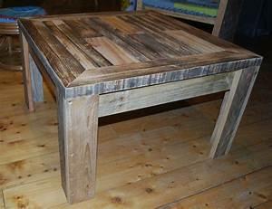 Plan De Table Palette : table basse en palette au bout du bois ~ Dode.kayakingforconservation.com Idées de Décoration