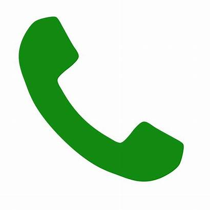 Verde Svg Phone Font Awesome Cornetta Call